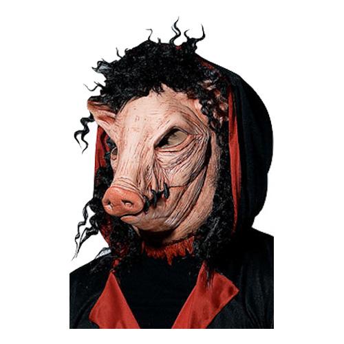 Saw Pig Mask - Partykungen.se d481bf21d27b5