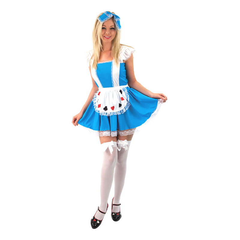 Alice i Underlandet Budget Maskeraddräkt - Partykungen.se 08c65ccafa988