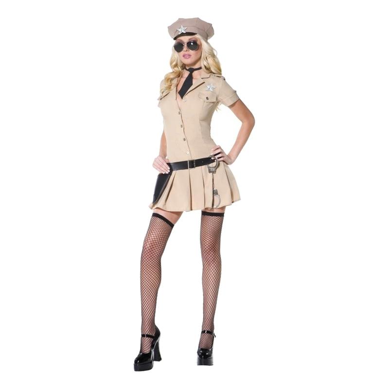 Sheriffklänning Maskeraddräkt - Partykungen.se d1ba971382d84