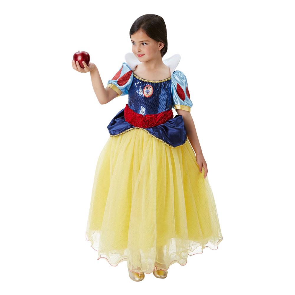 Snøhvit Premium Barn Kostyme - Partyking.no 76709656c1456