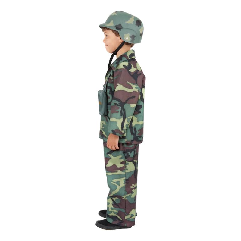Soldat Barn Maskeraddräkt - Partykungen.se 3c8fd0628f302