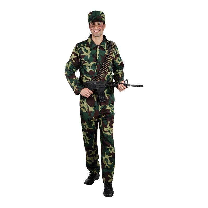 Soldat Maskeraddräkt - Partykungen.se a72c50ec3c86e