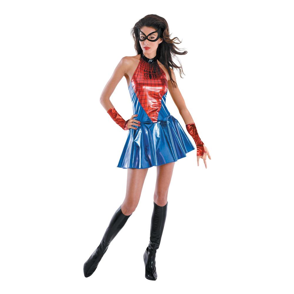 Spidergirl Maskeraddräkt - Partykungen.se eb886076fa33e