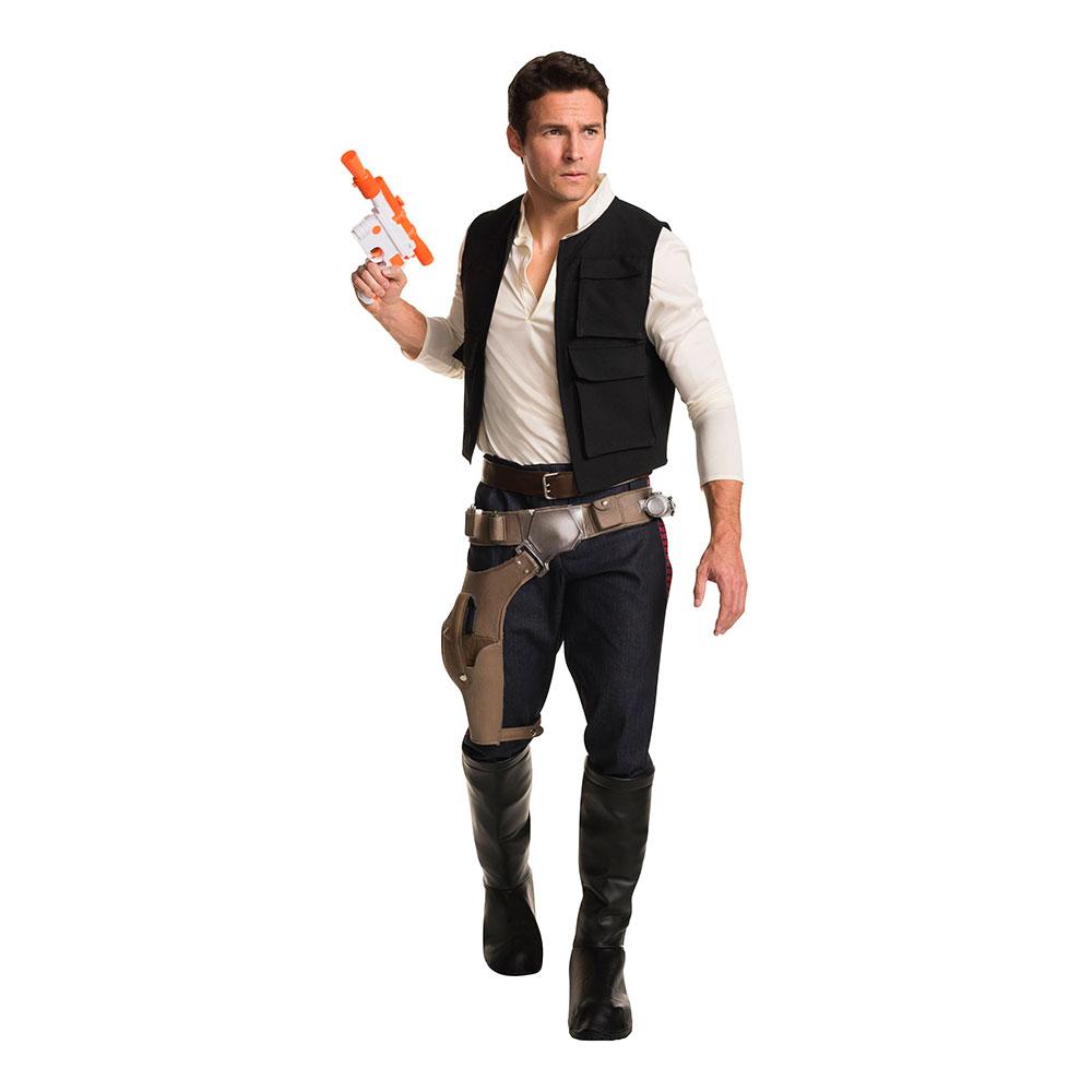 Star Wars Han Solo Super Deluxe Maskeraddräkt - Partykungen.se ff3230f72bf30