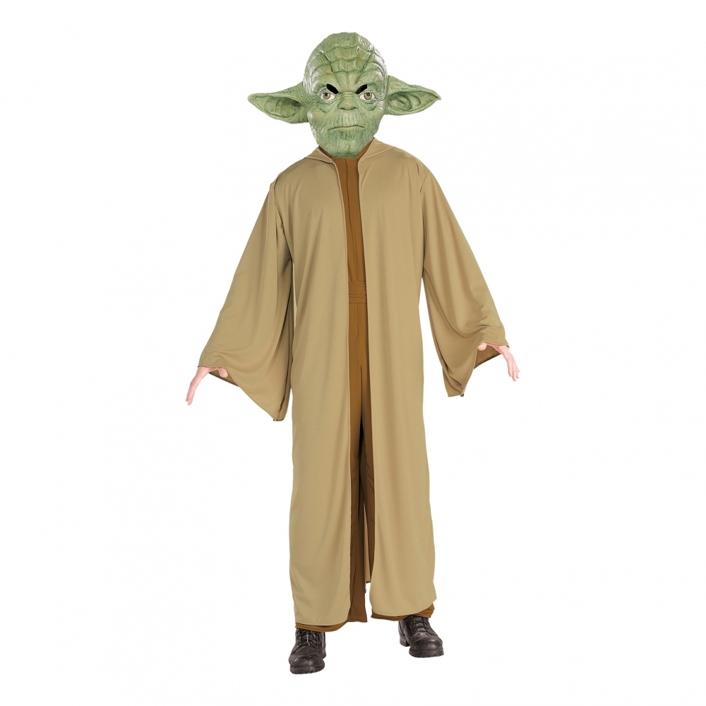 Yoda Maskeraddräkt - Partykungen.se 77f3f91ed2b29