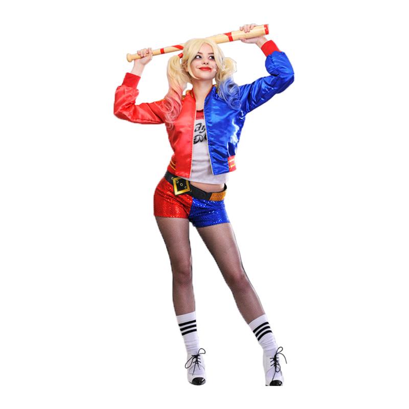 Suicide Squad Harley Quinn Maskeraddräkt - Partykungen.se 841a4215748d8