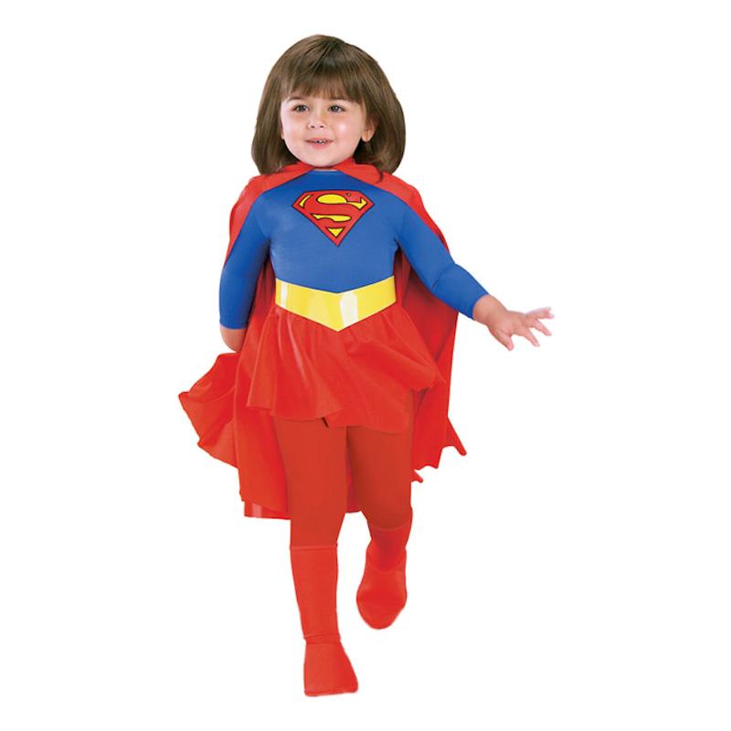 Supergirl Barn Maskeraddräkt - Partykungen.se 173bf5bc4a5c9