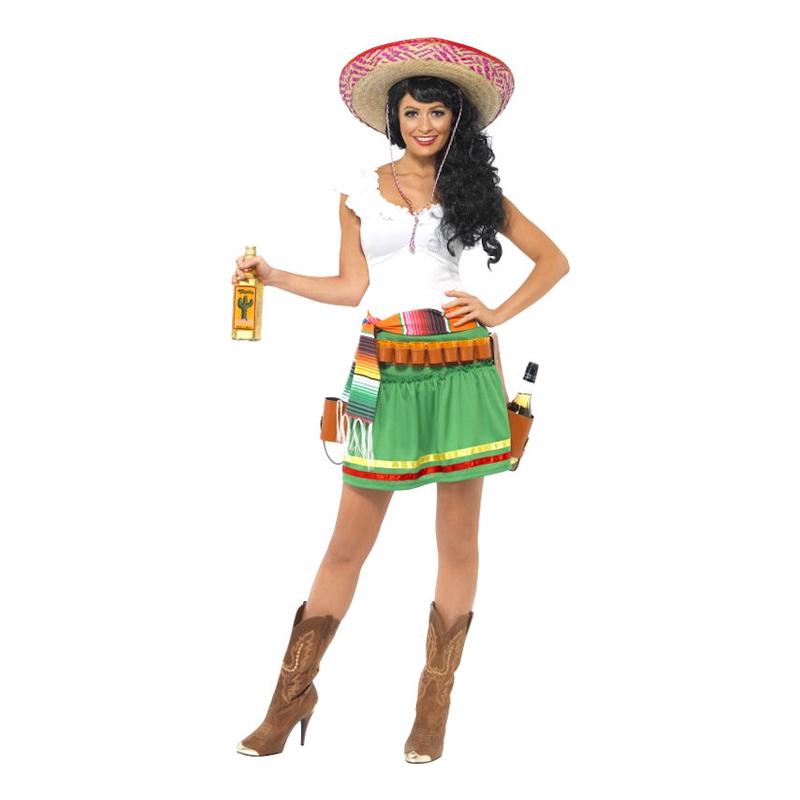 Tequila Girl Maskeraddräkt - Partykungen.se c3576ec9ba743