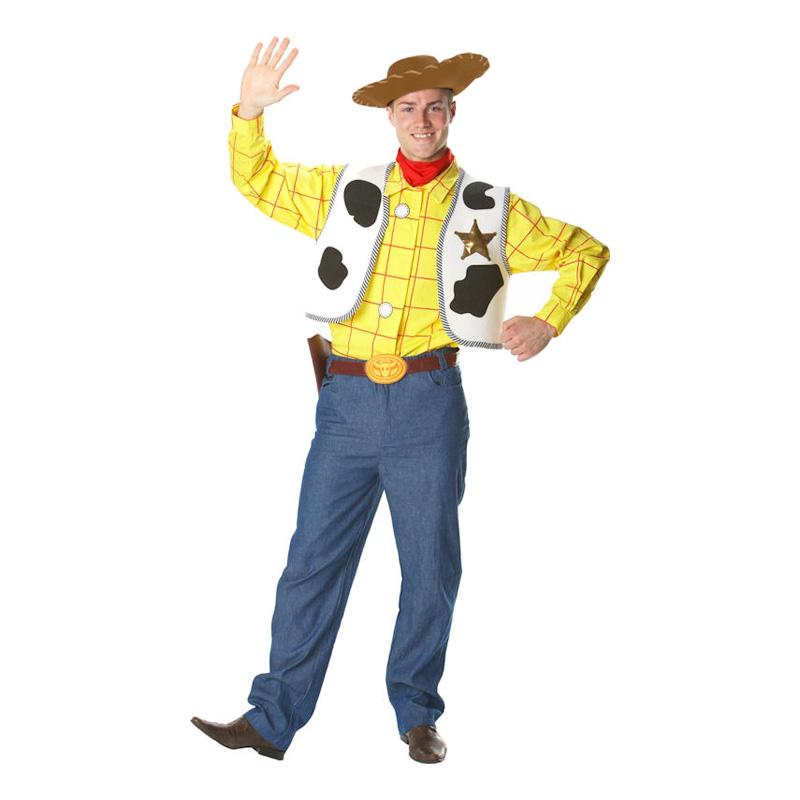 Sheriff Woody Maskeraddräkt - Partykungen.se 8d72ef9d3e210