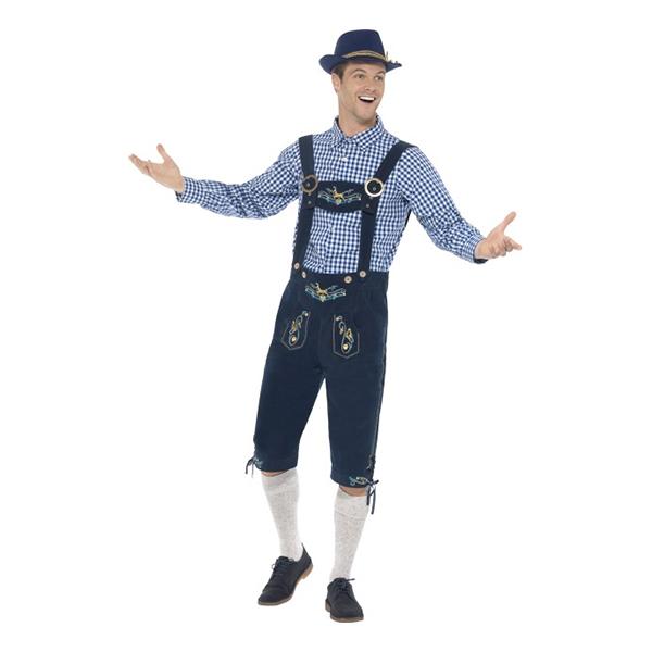oktoberfest outfit - Traditional Rutger Bavarian Deluxe Maskeraddräkt