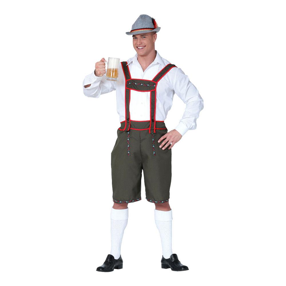oktoberfest outfit - Tyrolerbyxor Budget Maskeraddräkt