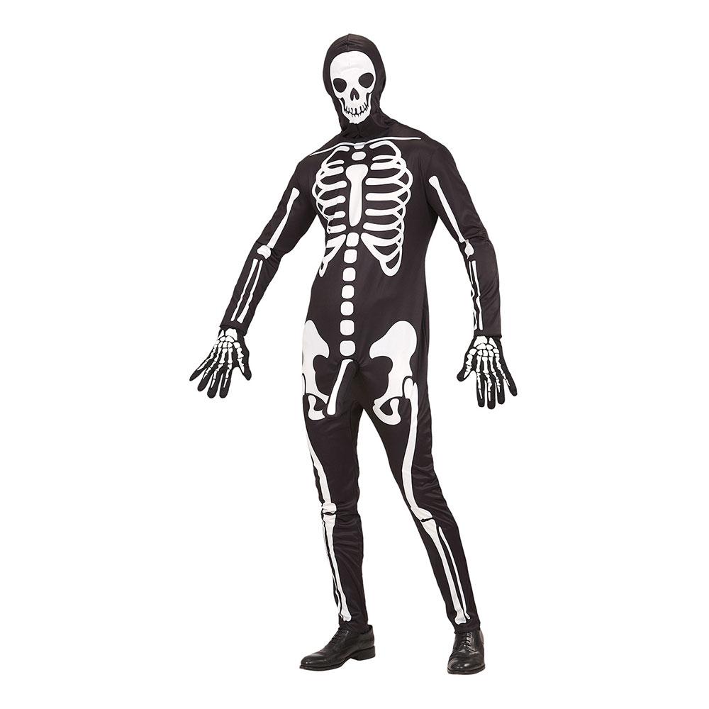 Välhängt Skelett Maskeraddräkt - Partykungen.se ef2ba4432d525
