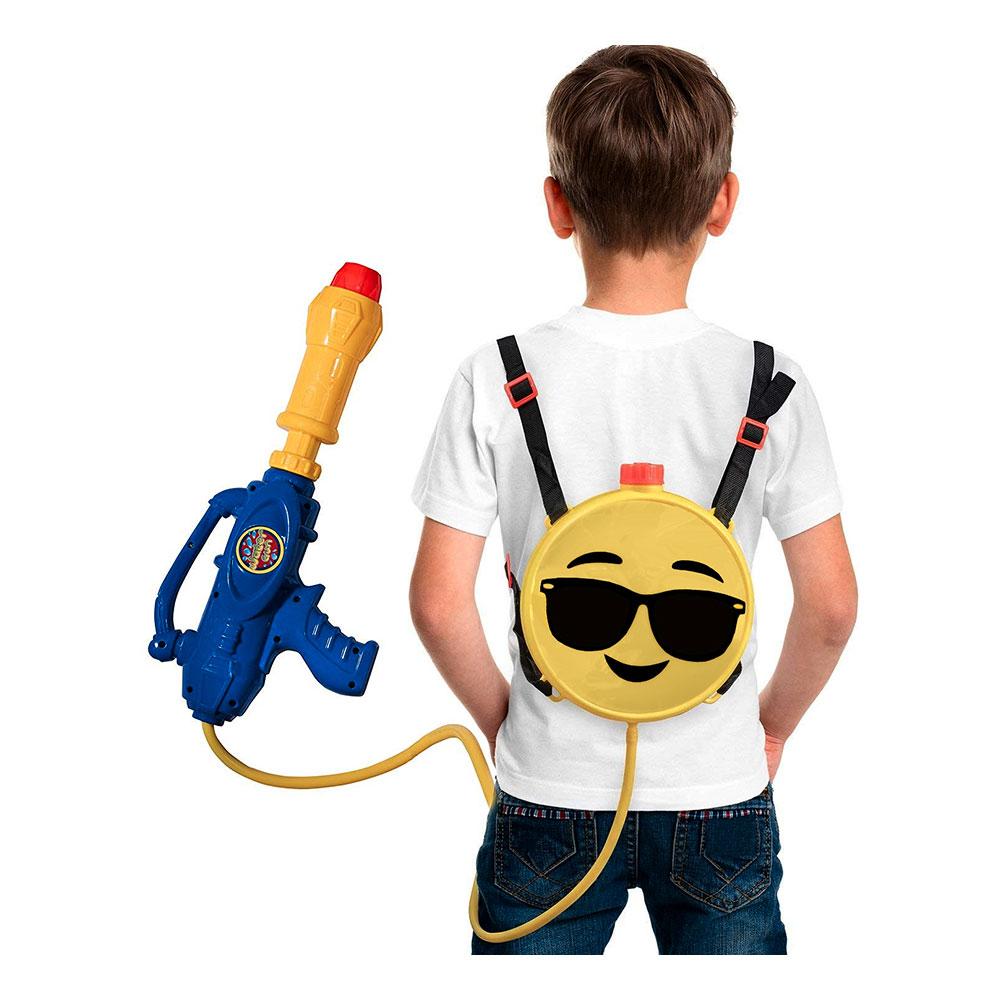 Vattenpistol Ryggsäck Emoji - Partykungen.se b069e1aa8f011