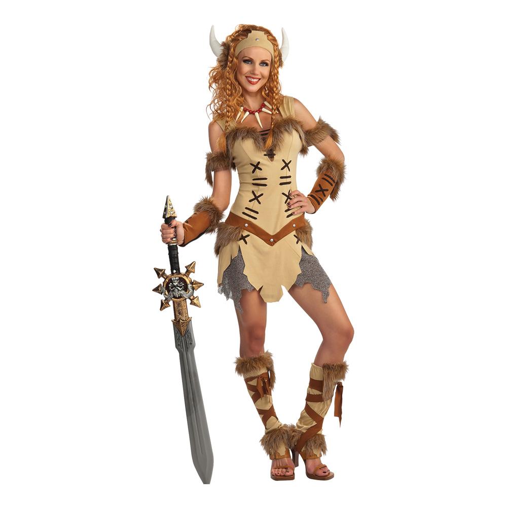 Viking Prinsessa Maskeraddräkt - Partykungen.se c6a3852b406fd