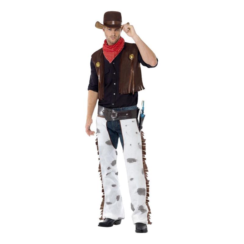 Western Cowboy Maskeraddräkt - Partykungen.se 26fa848753e8a