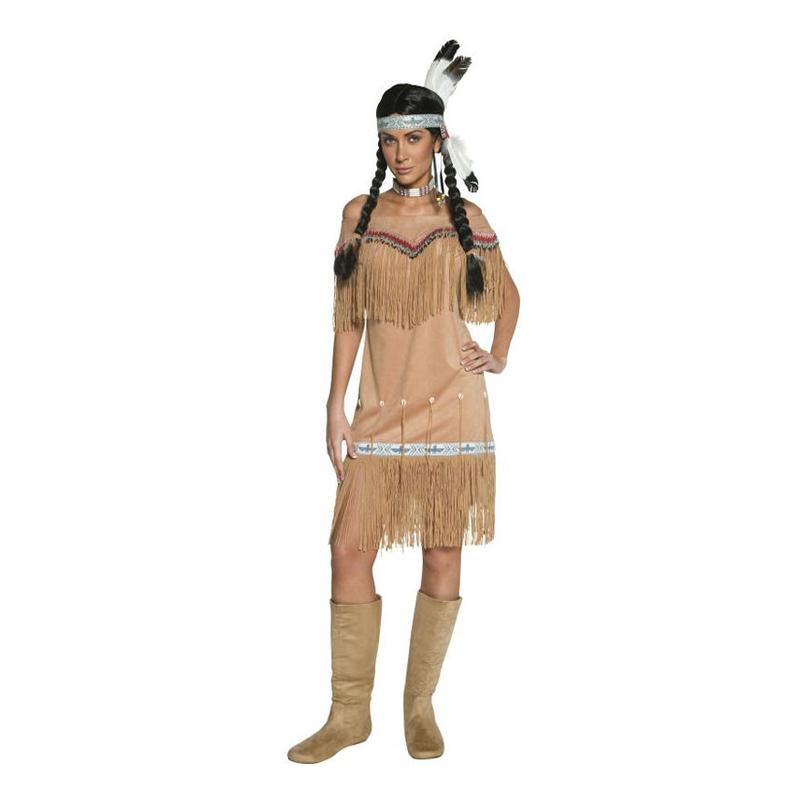 Western Indiantjej Maskeraddräkt - Partykungen.se b4733985c409a
