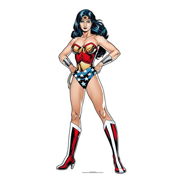 Wonder Woman DC Comics Mini Kartongfigur - Partykungen.se ab538d6d3e169