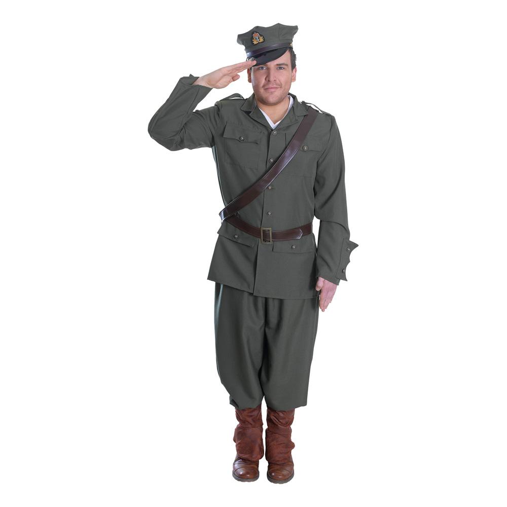 WW1 Armé Officer Herr Maskeraddräkt - Partykungen.se 45b8f56d40158