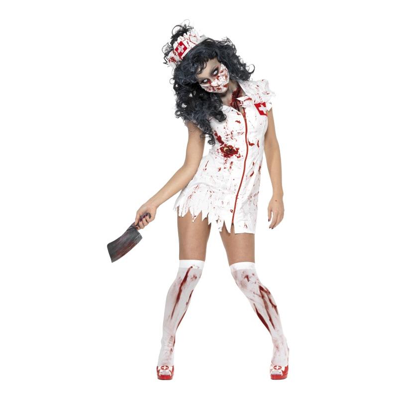 Zombie Sjuksköterska Maskeraddräkt - Partykungen.se d1289790d76fa