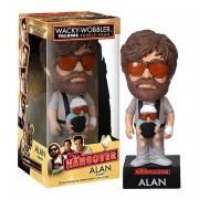 Alan med baby Bobble Head