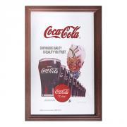 Barspegel Coca-Cola Glas