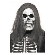 Läskig Skelettmask