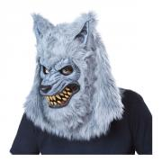 Varulv Grå Ani-Motion Mask
