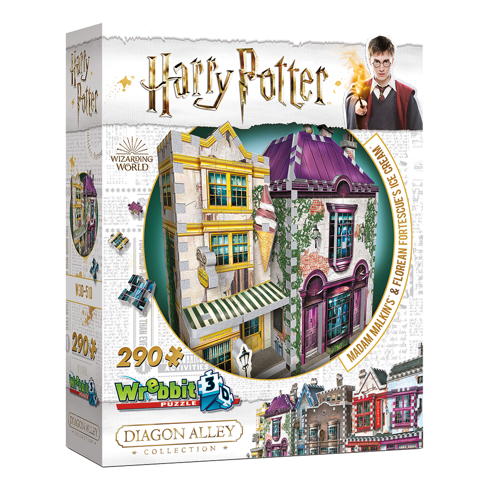 3D Pussel Harry Potter Madam Malkin's & Florean Fortescues Ice Cream