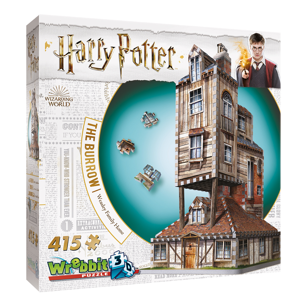 3D Pussel Harry Potter The Burrow