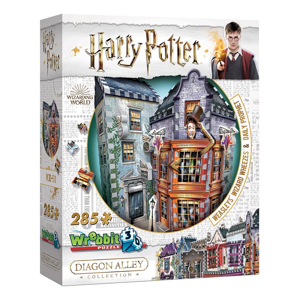 3D Pussel Harry Potter Weasley's WW & Daily Prophet