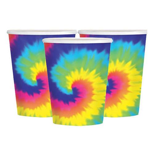 60-tals Hippie Muggar - 8-pack
