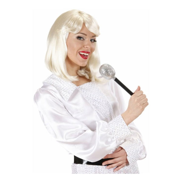 70-tals Agnetha Blond Peruk - One size