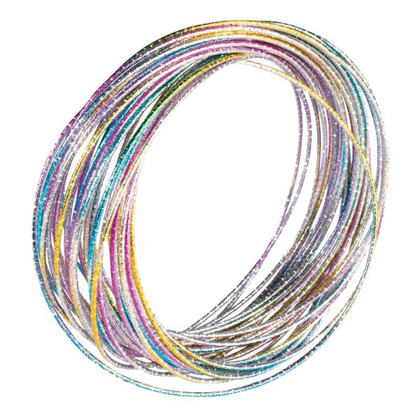 70-tals Regnbågsfärgade Armband