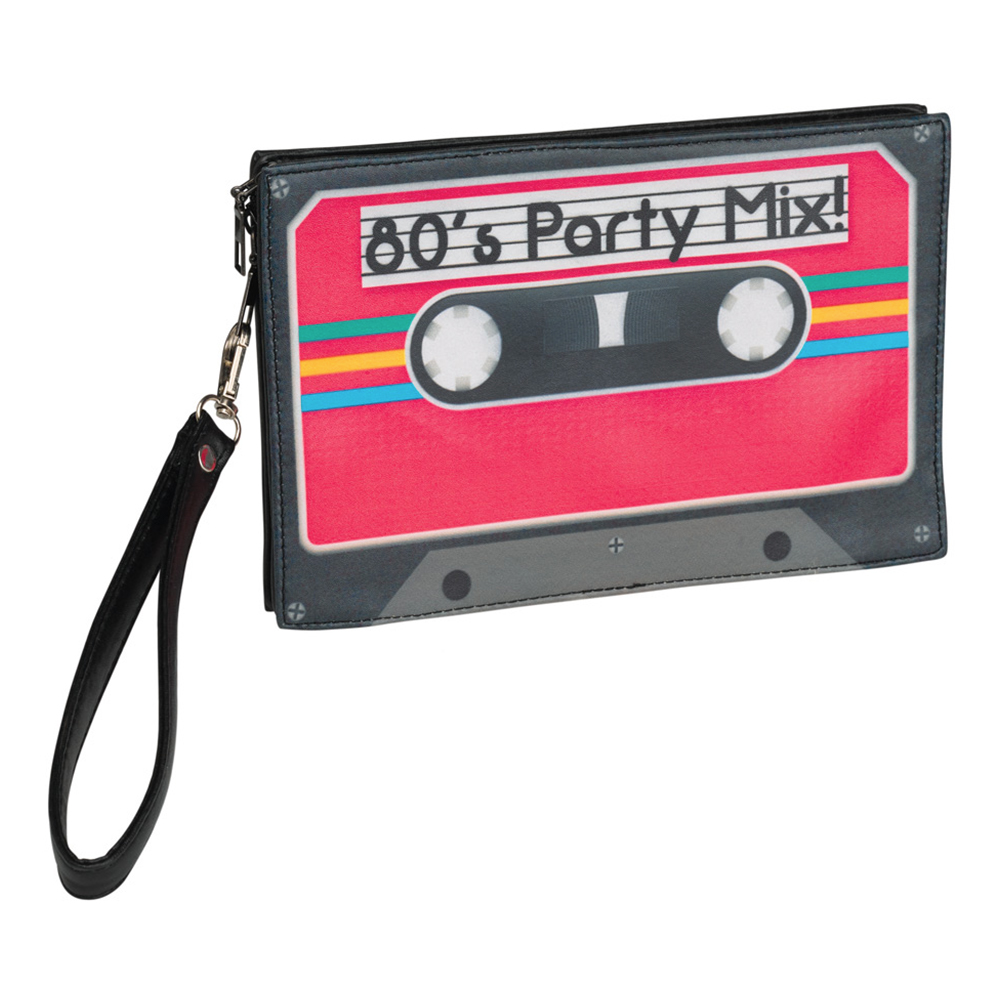 80-tals Kasettband Handväska