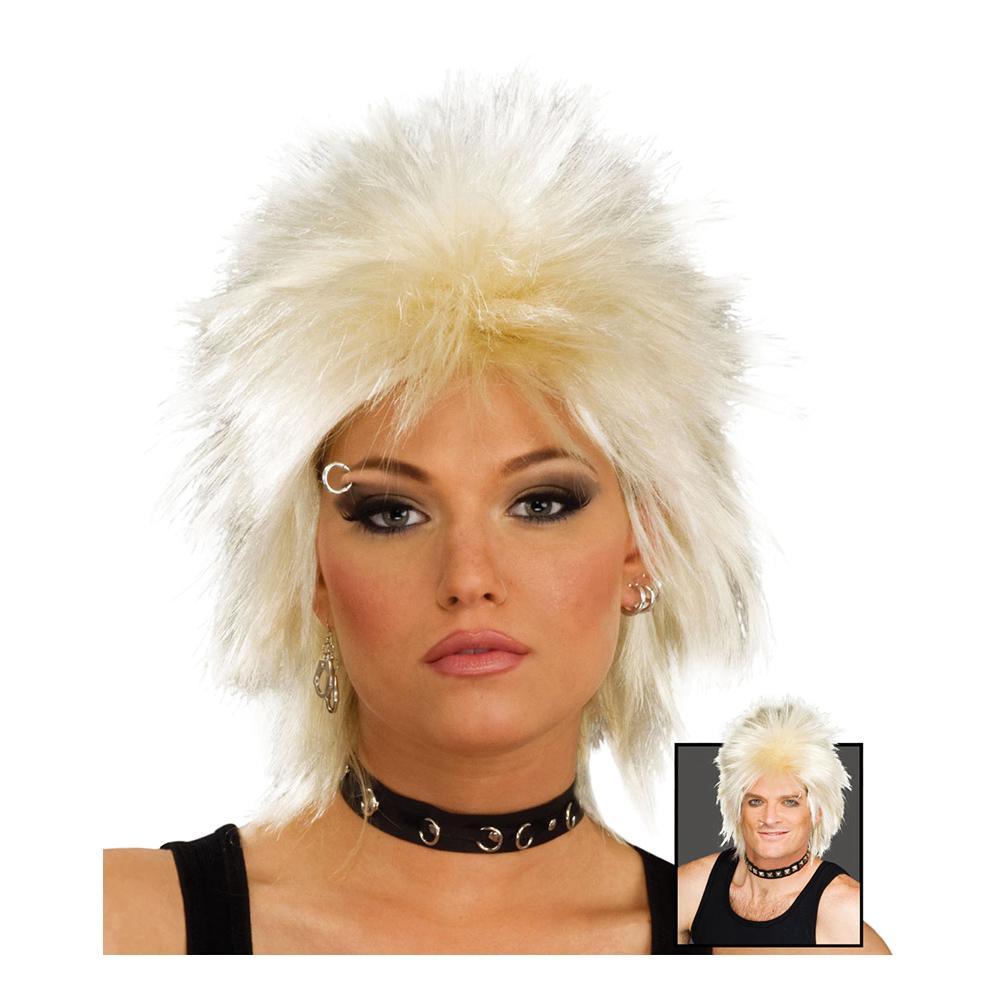 80-tals Rockidol Blond Peruk - One size
