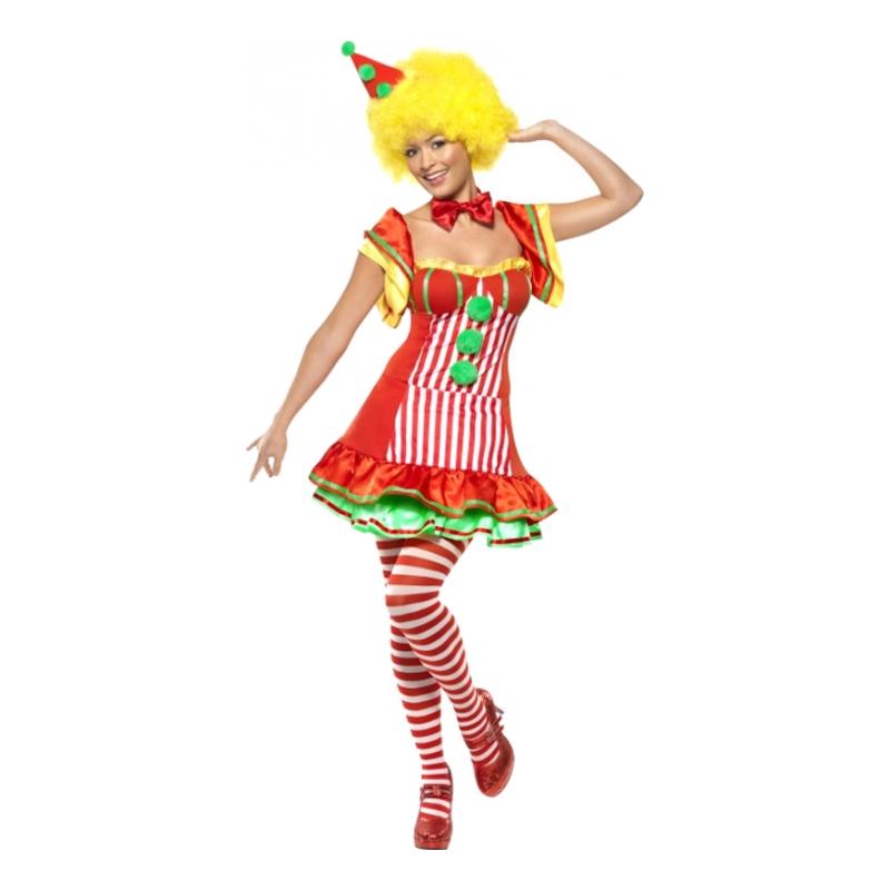 Clownen Boo Boo Maskeraddräkt - Small