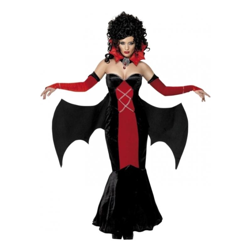 Gotisk Vampyra Maskeraddräkt - Medium
