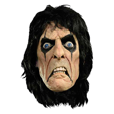 Alice Cooper Latexmask - One size