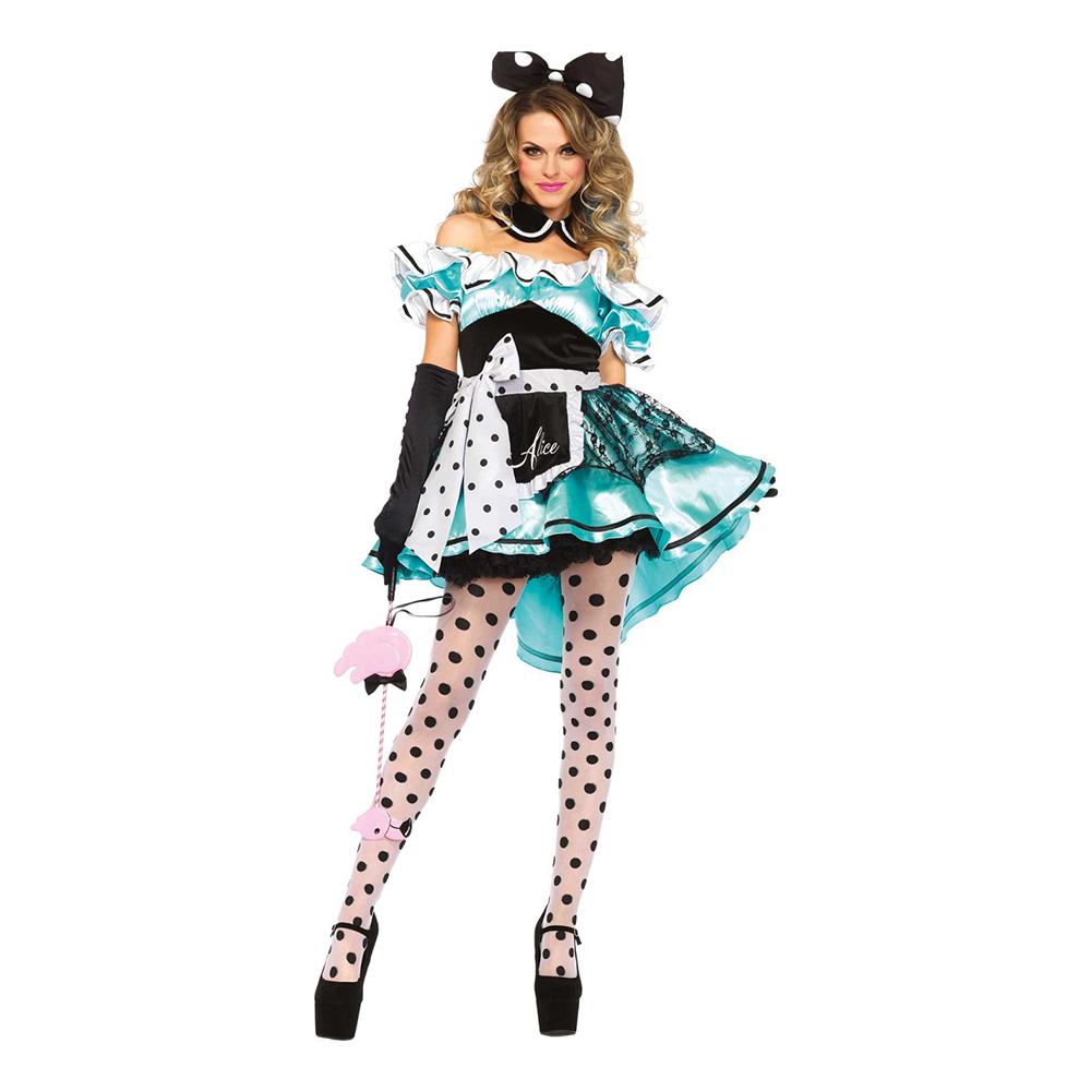 Alice Deluxe Maskeraddräkt - Small