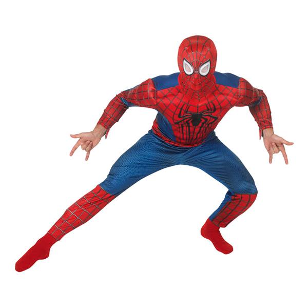 Amazing Spider-Man 2 Deluxe Maskeraddräkt - Standard