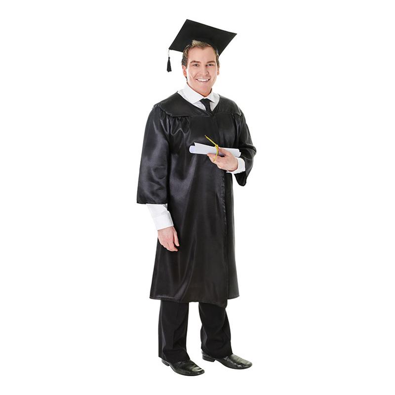 Amerikansk Examensdress Maskeraddräkt - One size