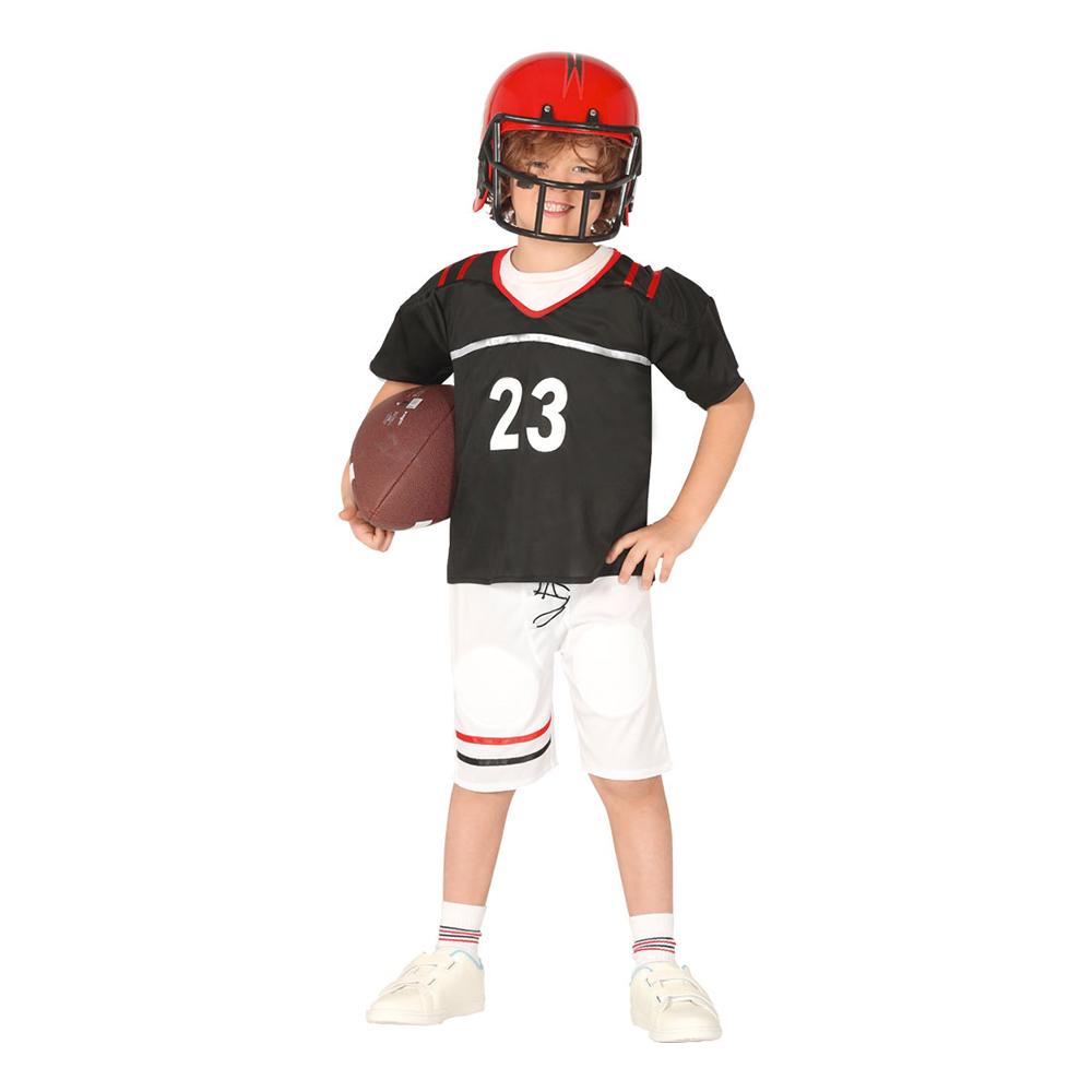 Amerikansk Fotbollsspelare Barn Maskeraddräkt - Small