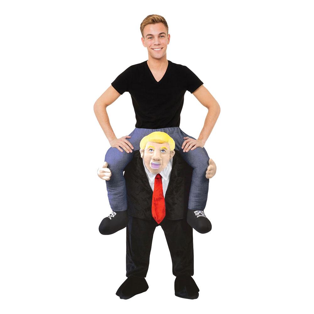 Amerikansk President Piggyback Maskeraddräkt - One size