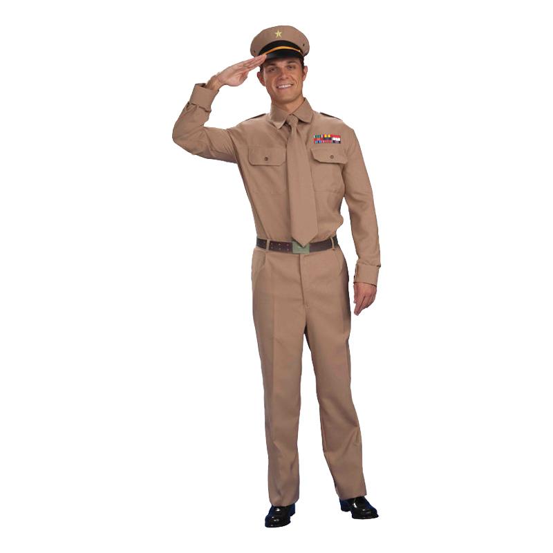 Amerikansk WW2 General Maskeraddräkt - One size