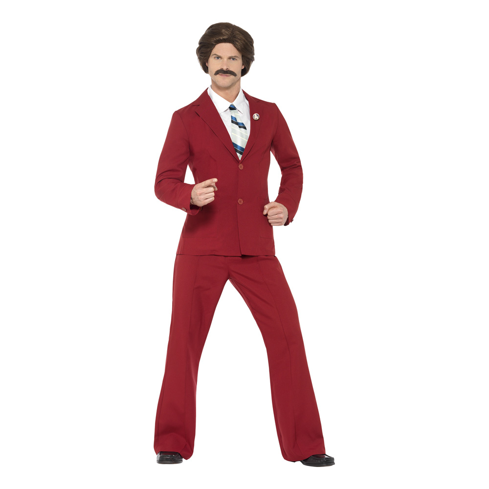 Anchorman Maskeraddräkt - Medium