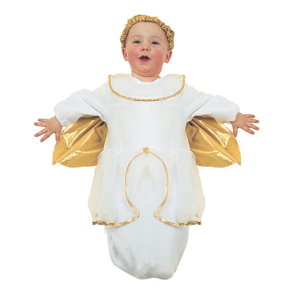 Ängel Bebis Maskeraddräkt - One size