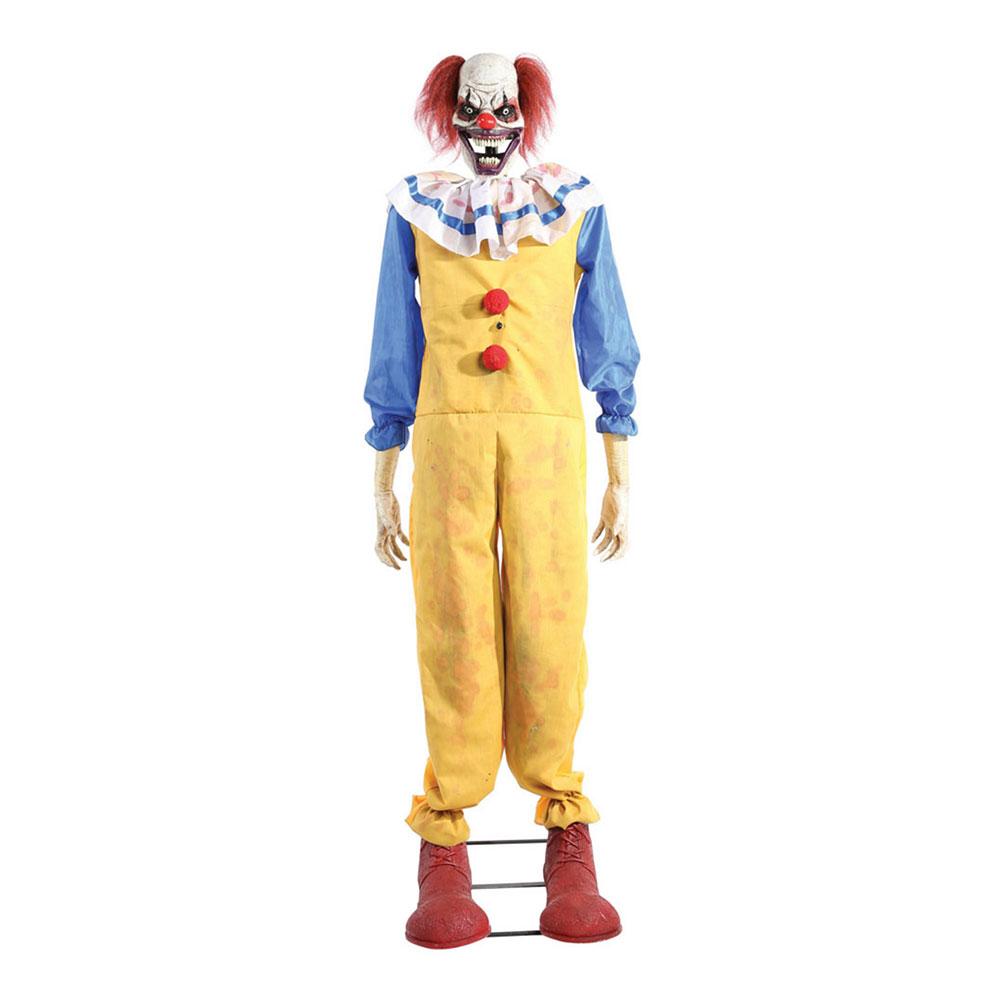 Animerad Clown Stående Prop