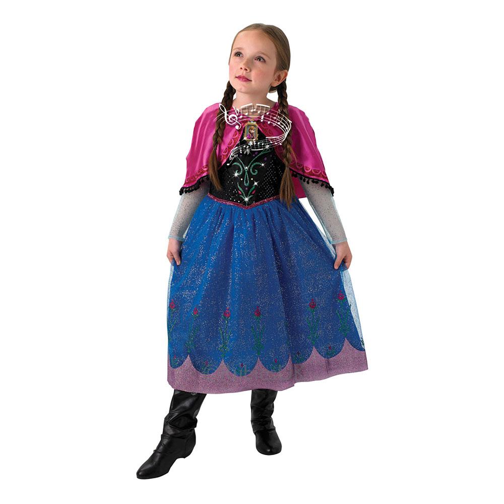 Anna Spelande Barn Maskeraddräkt - Small
