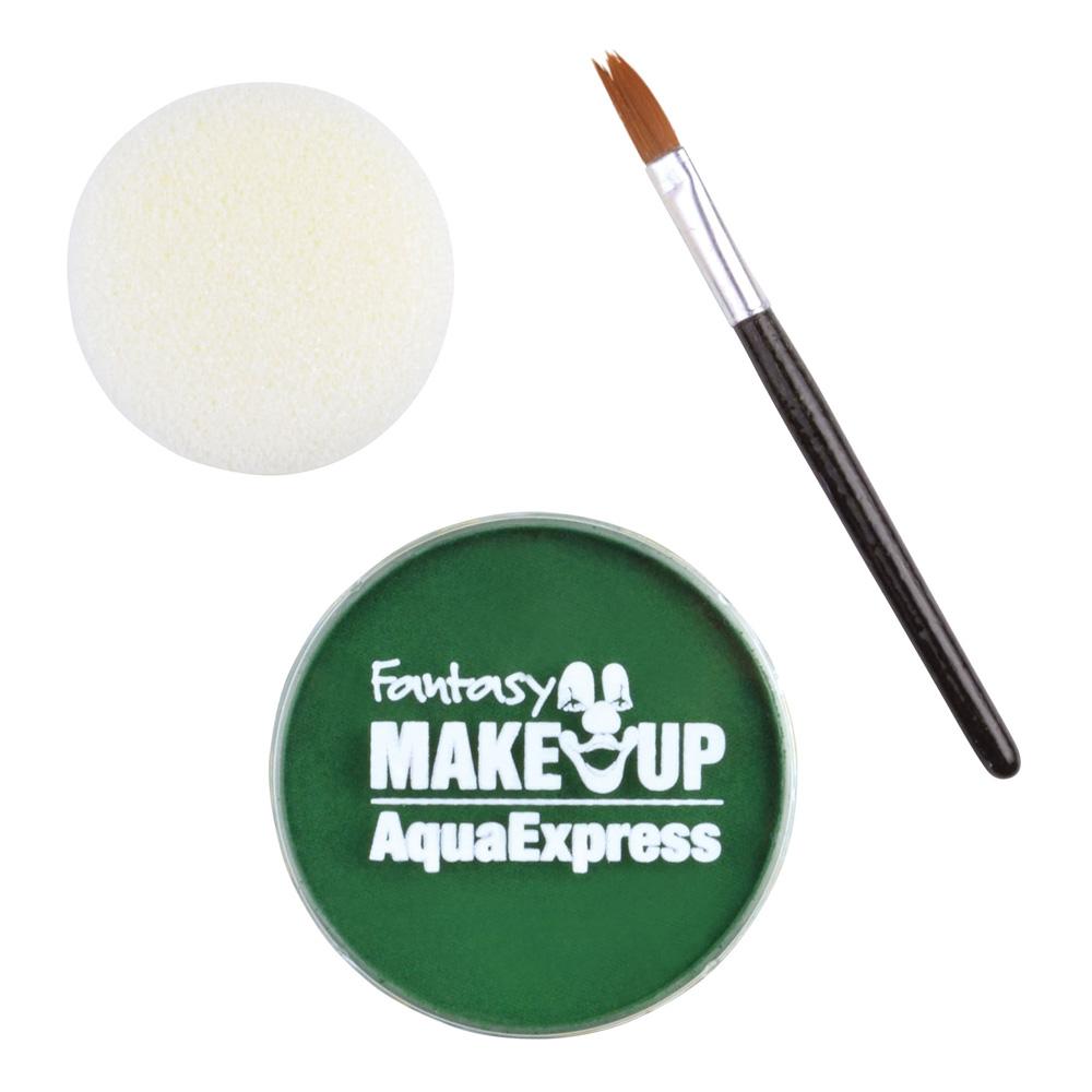 Ansikts- & Kroppsfärg Aqua Sminkset - Grön