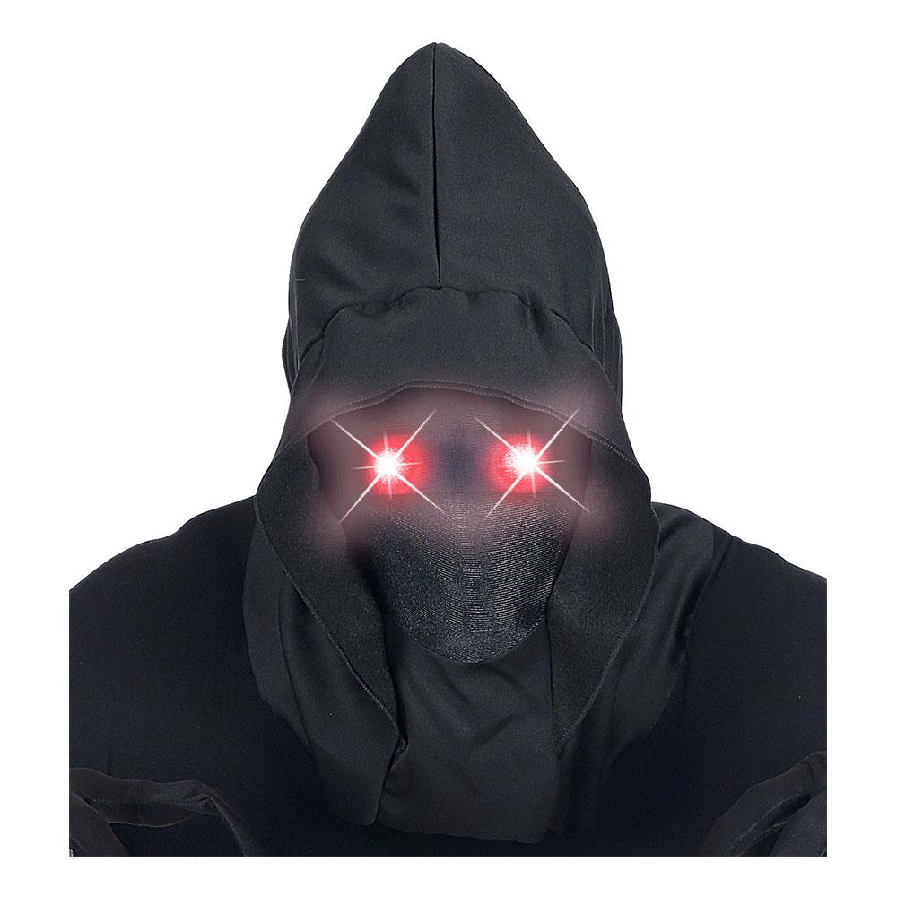 Ansiktslös Mask med Lysande Röda Ögon - One size
